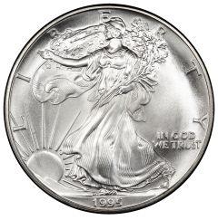 1995 American Silver Eagle Coin