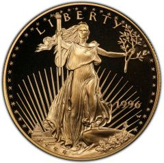 1996 1 oz American Gold Eagle Proof Coin