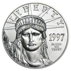 1997 1 oz Platinum American Eagle Coin- First Year of Issue