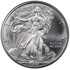 1997 American Silver Eagle Coin