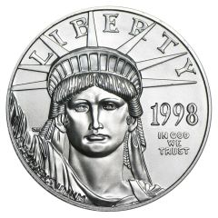 1998 1 oz Platinum American Eagle Coin