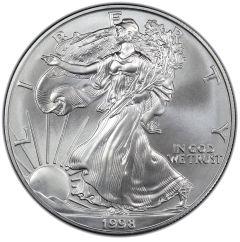 1998 American Silver Eagle Coin