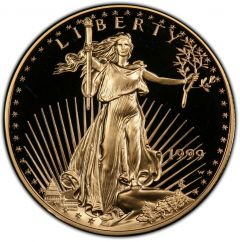 1999 1 oz American Gold Eagle Proof Coin