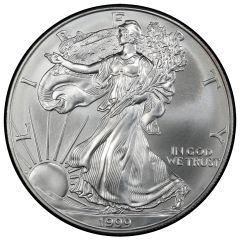 1999 American Silver Eagle Coin