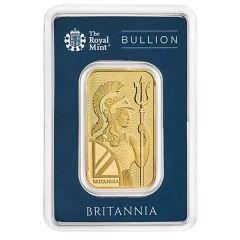 1 oz British Gold Britannia Bar - In Assay