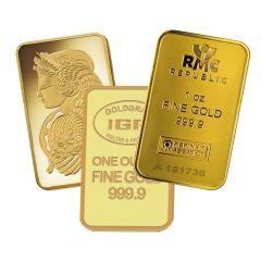 1 oz Gold Bars - Our Choice Brand
