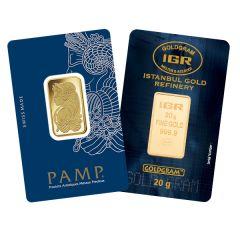 20 Gram Gold Bar - Random Design