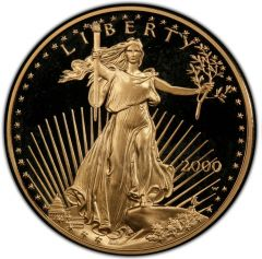 2000 1 oz American Gold Eagle Proof Coin