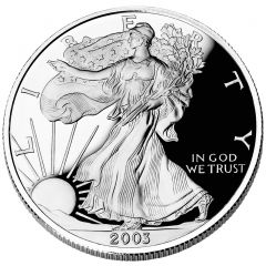 2003 American Silver Eagle Proof
