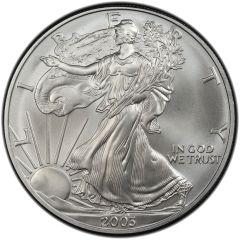 2003 American Silver Eagle Coin