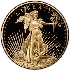 2004 1 oz American Gold Eagle Proof Coin