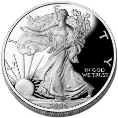 2005 American Silver Eagle Proof