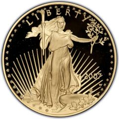 2007 1 oz American Gold Eagle Proof Coin