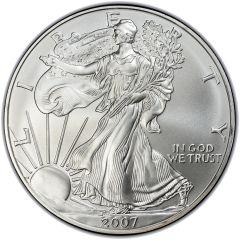 2007 Silver American Eagle Coin