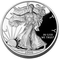 2008 American Silver Eagle Proof