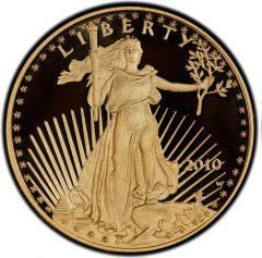 2010 1 oz American Gold Eagle Proof Coin
