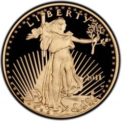 2011 1 oz American Gold Eagle Proof Coin