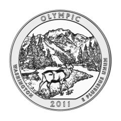 2011 Silver 5 oz Olympic America The Beautiful