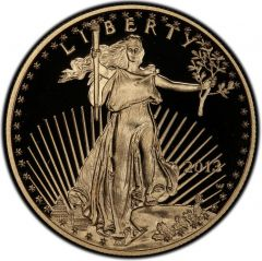 2013 1 oz American Gold Eagle Proof Coin