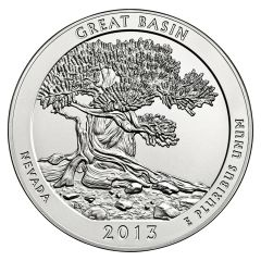 2013 Silver 5 oz Great Basin National Park America The Beautiful