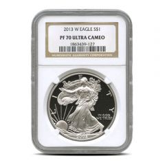 2013-W NGC PF-70 American Silver Eagle Proof Ultra Cameo