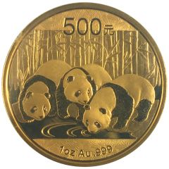2013 1 oz Gold Chinese Panda Coin - In Original Mint Packaging