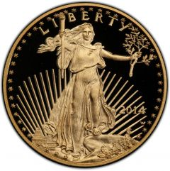 2014 1 oz American Gold Eagle Proof Coin
