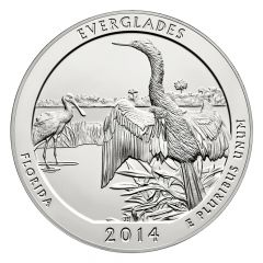 2014 Silver 5 oz ATB Everglades National Park America The Beautiful