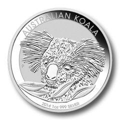 2014 Australian Koala Silver 1 oz BU Perth Mint