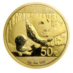 2016 3 Gram Chinese Gold Panda Coin BU