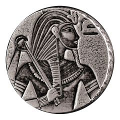 2016 Republic of Chad King Tut 5 oz Silver Coin - Egyptian Relic Series