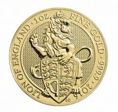 2016 1 oz Gold Queen's Beasts I The Lion - Royal British Mint