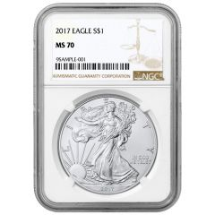 2017 NGC MS-70 American Silver Eagle Coin