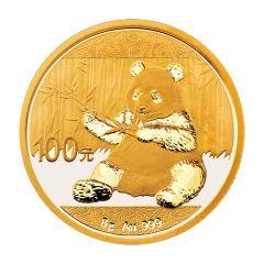 2017 8 Gram Chinese Gold Panda Coin BU