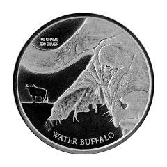 2017 Congo Water Buffalo Silver Coin 100 Gram