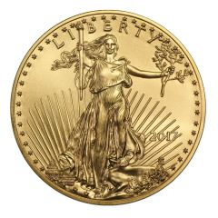 2017 1 oz Gold American Eagle Coin BU
