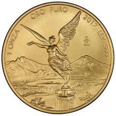 2017 Mexican Gold Libertad Coin 1 oz