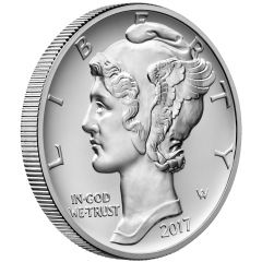 2017 American Palladium Eagle Coin 1 oz