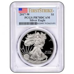 2017-W Silver Eagle Proof - PR-70 PCGS First Strike