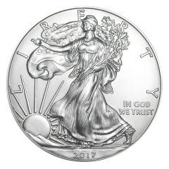 2017 American Silver Eagle Coin BU