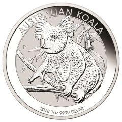 2018 Perth Mint Koala Silver Coin 1 oz