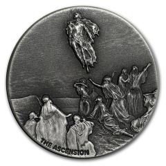 2018 2 oz Ascension of Christ Biblical Silver Coin Series