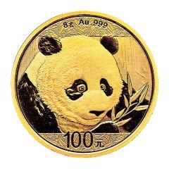 2018 8 Gram Chinese Gold Panda Coin BU