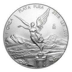 2018 Mexican Libertad Silver Coin 1 oz