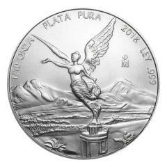 2018 Mexican Libertad Silver Coin 1/10 oz