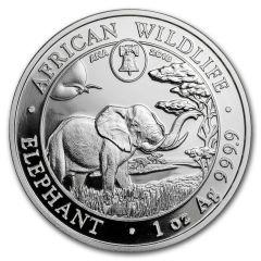 2018 1 oz Silver Elephant Coin - Philadelphia ANA Privy Mark