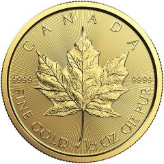 2018 1/2 oz Canadian Gold Maple Leaf Coin