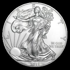 2018 American Silver Eagle Coin BU