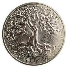 2020 5 oz Tree of Life Silver Coin - High Relief