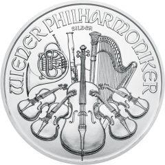 2020 1 oz Austrian Silver Philharmonic Coin BU